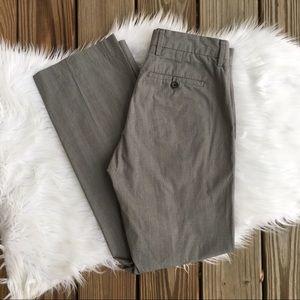 Men's Banana Republic Gray Flat Front Dress Pants